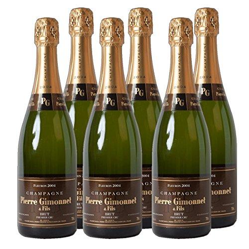 Champagne Fleuron Brut Cru Champagner trocken (6 x 0.75 l)