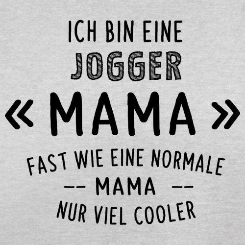 Ich bin eine Jogger Mama - Herren T-Shirt - 13 Farben Hellgrau