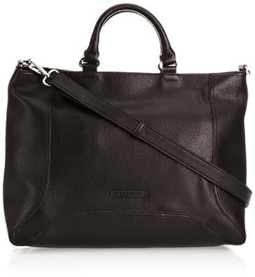 Esprit Beth City Bag, Sac porté main - Noir (001 Black), Taille Unique