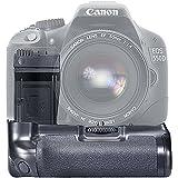 Neewer® BG-E8empuñadura de batería para Canon EOS 550d/600d/650d/700d Rebel T2i/T3i/T4i/T5i SLR Cámara, funciona con 1o 2piezas LP-E8o 6piezas pilas AA