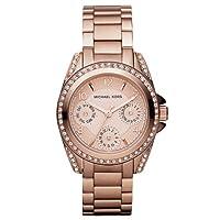 Reloj MICHAEL KORS MK5613 de cuarzo para mujer con correa de acero inoxidable, color rosa de Michaël Kors