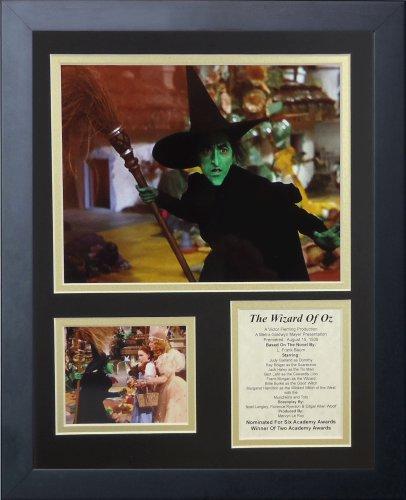 Legenden Sterben Nie Wizard of Oz Hexe gerahmtes Foto Collage, 11x 35,6cm