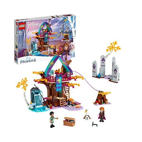LEGO Frozen La Casa sull'albero Incantata 41164 Set di Costruzioni per Ricostruire la Magica Atmosfera di Frozen e… 1 spesavip