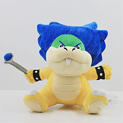 16 centimetri Super Mario Bros bowser Koopalings Ludwig Koopa peluche bambola