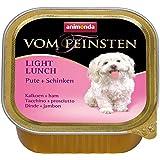 Animonda vom Feinsten Hundefutter Light Lunch Pute + Schinken, 22er Pack (22 x150 g)