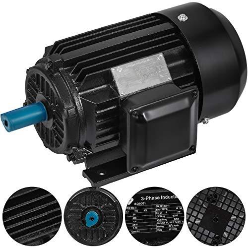 Mophorn AC Motor 3 Phasen Wechselstrommotor 1.5KW 400V Elektromotor 2830 U/min (1.5kw) - 3-phasen-motor