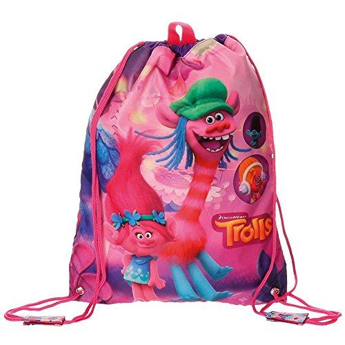 Imagen de trolls friends  infantil, 40 cm, 1.2 litros, rosa