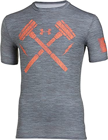 Under Armour Herren Fitness - Combine Training Hammers Compression Shortsleeve