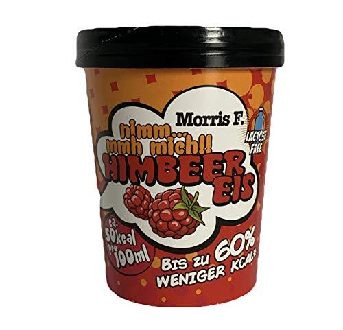 Preisvergleich Produktbild Das vegane und kalorienarme Eis von Morris F.: Nimm.mmh mich! Himbeer Eis (6 Eisbecher mit jeweils 500ml)