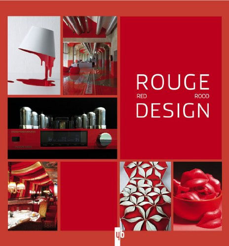 Rouge Design : Edition français-anglais-flamand par YB Editions