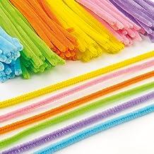 Pack Ahorro de Limpiapipas de 30 cm en 6 Colores Variados Perfectas para Crear Modelos y Decorar Otras Manualidades Infantiles (Pack de 120)
