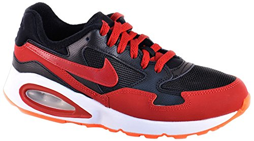 Nike Max Air St (Gs) Chaussures Noir/Rouge/Blanc Nero / Rosso / Bianco