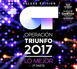 Lo Mejor - Segunda Parte (Deluxe) by Operación Triunfo 2017 (B079MV1SR8) | Amazon price tracker / tracking, Amazon price history charts, Amazon price watches, Amazon price drop alerts