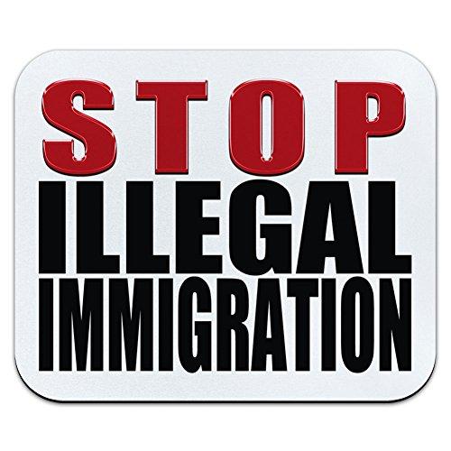 Stop Illegale Einwanderung–Anti politischen Mauspad Mauspad