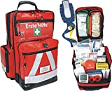 Erste Hilfe Notfallrucksack für Sportvereine, Freizeit & Event - Planenmaterial mit Waterstop System