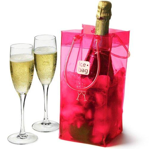 Ice bag - 17400 - Sac rafraichisseur rose basic