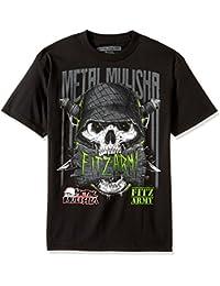 Camiseta Metal Mulisha Grinder - Fitz Negro