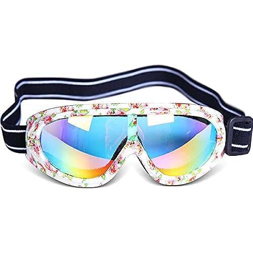3f96ab0703 gafas de sol ninos y ninas WDAKOWA Anti-Impacto A Prueba De Viento  Protección UV