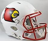 NCAA Louisville Cardinals - Casco de réplica de velocidad de tamaño completo, color rojo, tamaño mediano