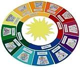 matches21 Jahreskreis mit Jahreszeiten Papier Bastelset f. Kinder Lernspiel ab 7 Jahren