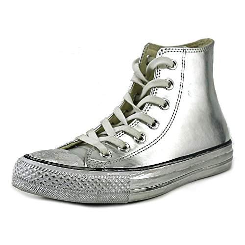CONVERSE Chaussures HI CHROME - Argent Silver/White