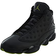 size 40 9f1ea eaf1f Nike Chaussures Hommes Jordan 13 Retro Altitude en Cuir Noir 414571-042