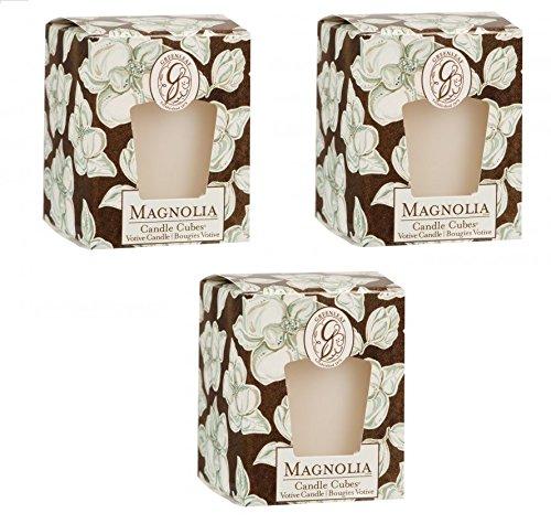 Drei Magnolien (Pack von 3magnolia Votiv Kerzen)