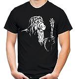 Gandalf Männer und Herren T-Shirt | Spruch Alf Outfit Geschenk (L, Schwarz)
