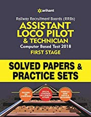Railway Assistant Loco Pilot and Technician Solved Papers and Practice Sets 2018