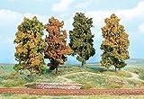 Heki 2001 Herbstbäume 4 Bäume 18 cm