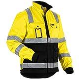 Blakläder Jacke High-Vis Klasse 3, 1 Stück, XL, gelb/schwarz, 402318043399XL