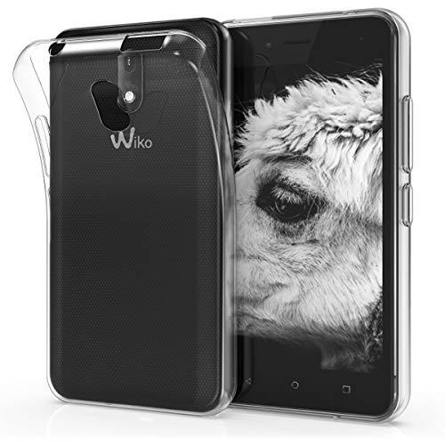 kwmobile Funda para Wiko Sunny 3 Mini - Carcasa Protectora de TPU para  móvil - Cover Trasero en Transparente