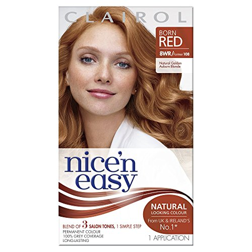 Clairol Nice N Easy Permanent Hair Colourant 108 Golden Auburn -