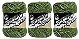 LILY Sugar 'N Cream - Pack of 3 Balls - 71g Each Ball - Sage Green
