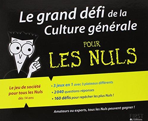 Le grand défi de la Culture générale ...
