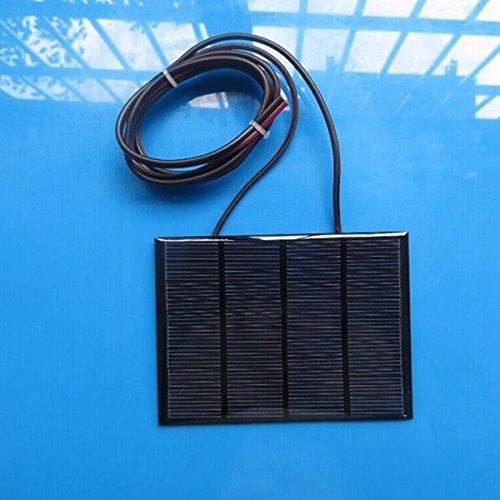 12V 1.5W Mini Solar Panel Kleine Zelle Modul Epoxy Ladegerät mit 1 M Schweißdraht