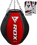 RDX Sacco da Boxe montante Pelle Sacchi Pugilato Wrecking Ball MMA Pieno Terra Base Allenamento