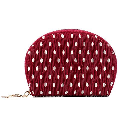 Damen Schultertaschen,Rifuli Halbrunde Welle Punkt Mini Geldbörsen falten Geldbörse Kartenhalter Schultertaschen Koffer Rucksäcke Taschen Messenger Bags -