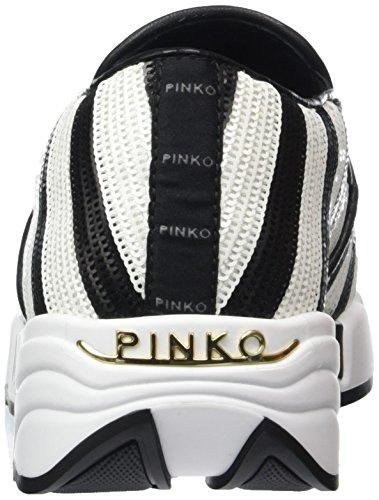 Pinko 1h207j-y23z/Zz2, Scarpe Donna multicolore (ZZ2 NERO/BIANCO)