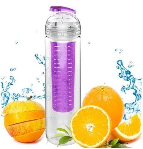 700ml frutas Fuzer Infusing Infuser botella de agua morado deportes