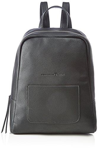 Tom Tailor Denim Damen Ivy Rucksackhandtasche, Schwarz (Schwarz), 6 x 29 x 24 cm