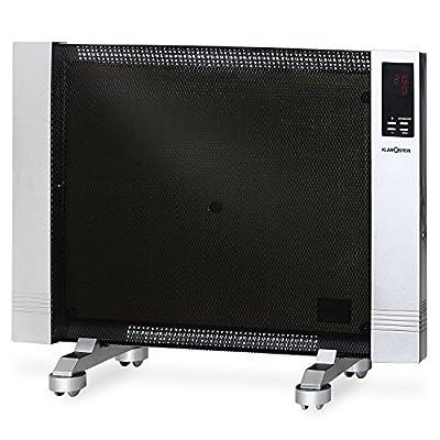 Klarstein HT003MC Floor 1500W Black, Silver RADIATOR–Electric Space Heaters (RADIATOR, Black, Silver, 230V, 50Hz, 640mm, 260mm) von Klarstein - Heizstrahler Onlineshop