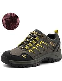 GLSHI Chaussures pour hommes pantoufles d'été en cuir et tongs chaussures de marche pour Brown noir occasionnel 2018 (Couleur : UNE, Taille : 40)
