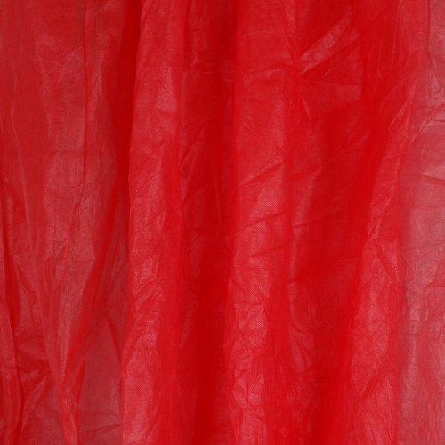 Walimex leichter Stoffhintergrund (3x6 m) rot -