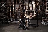 Tunturi WB50 Mid Width Weight Bench Hantelbank, schwarz, 1 - 2