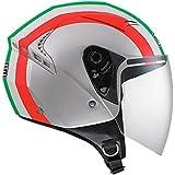 AGV Helmets Casco Jet G240 MDS E2205, color Plata (Eternum Argenté/Italy), talla L