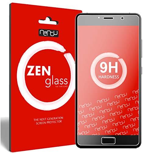 nandu I ZenGlass [2 Stück] Flexible Glas-Folie für Lenovo P2 Panzerfolie I Bildschirm-Schutzfolie 9H I (Kleiner Als Das Gewölbte Bildschirm)