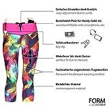 Formbelt® Laufhose Damen Capri Leggings (brazil) - 2