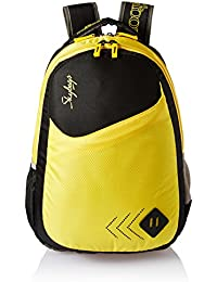 Skybags 25 Ltrs Black School Backpack (BPLEO4BLK)