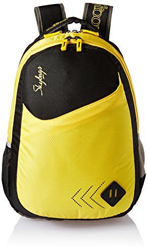 Skybags 25 Ltrs Black Casual Backpack (BPLEO4BLK)